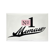 Number One Memaw Rectangle Magnet