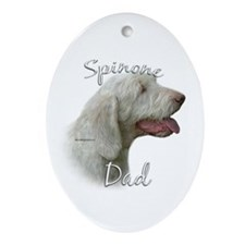 Spinone Dad2 Oval Ornament