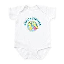 Naples Flip Flops - Infant Bodysuit