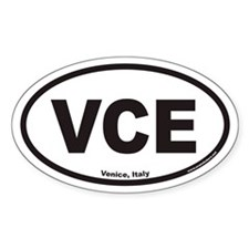 Venice VCE Euro Oval Decal