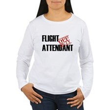Off Duty Flight Attendant T-Shirt
