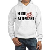 Off Duty Flight Attendant Hoodie