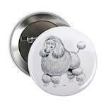 Poodle Dog Button
