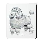 Poodle Dog Mousepad