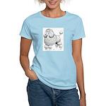 Poodle Dog Women's Pink T-Shirt