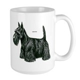 Scottie dog Large Mug (15 oz)