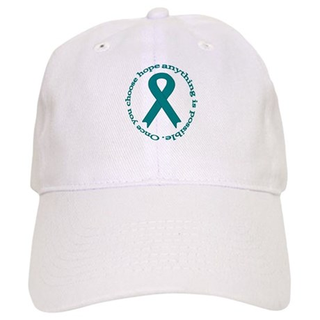 Teal Hope Cap