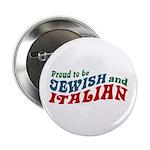 Jewish Italian Button