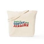 Jewish Italian Tote Bag