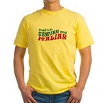 Jewish Italian Yellow T-Shirt