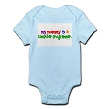 My Mommy Is A Programmer (PRIMARY) Infant Bodysuit