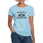 Property of a Jewish Girl Women's Light T-Shirt