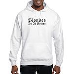 Redheads Do It Better Hooded Sweatshirt