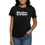 Redheads Do It Better Women's Dark T-Shirt