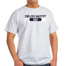 English Mastiff Dad T-Shirt