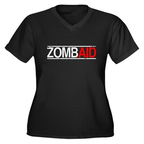 ZombAid Plus Size V-Neck Shirt
