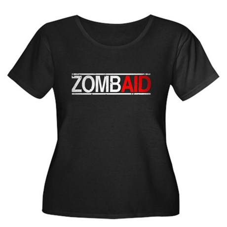 ZombAid Plus Size Scoop Neck Shirt