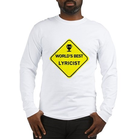 Lyricist Long Sleeve T-Shirt
