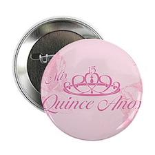 "Quinceanera 2.25"" Button"