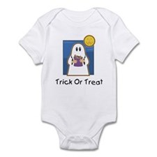 Trick or Treat Ghost Infant Bodysuit