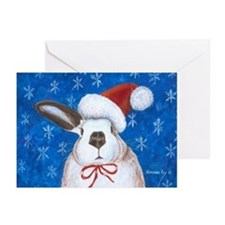 Santa Rabbit Greeting Cards (Pk of 20)