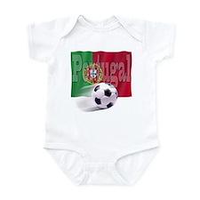 Soccer Flag Portugal Infant Bodysuit