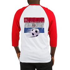Soccer Flag Paraguay (B) Baseball Jersey