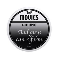 Movies Ornament (Round)