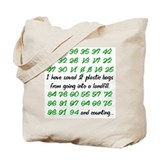 I Have Saved Reuseable Green Grocery Tote Bag