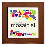 Extraordinary Mosaicist Framed Tile