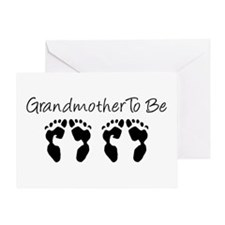 Grandmother To Be Greeting Card