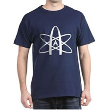 Unique Atheist symbol T-Shirt