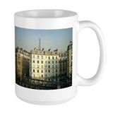 Paris Apartments and Eiffel T Ceramic Mugs