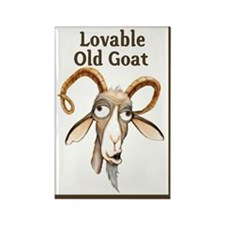 Old Goat Rectangle Magnet (10 pack)