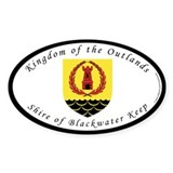 Blackwater Keep Oval Decal