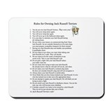 Rules for Owning JRTs Mousepad