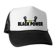 Black Power Fist Trucker Hat