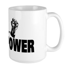 Black Power Fist Mug