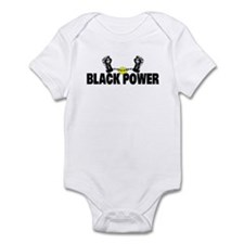 Black Power Fist Infant Bodysuit