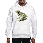 Leopard Frog (Front) Hooded Sweatshirt