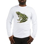 Leopard Frog (Front) Long Sleeve T-Shirt