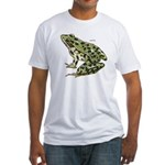 Leopard Frog (Front) Fitted T-Shirt