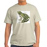 Leopard Frog (Front) Ash Grey T-Shirt