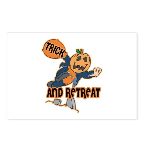 Trick and Retreat Postcards (Package of 8)
