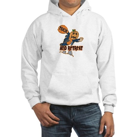 Trick and Retreat Hooded Sweatshirt