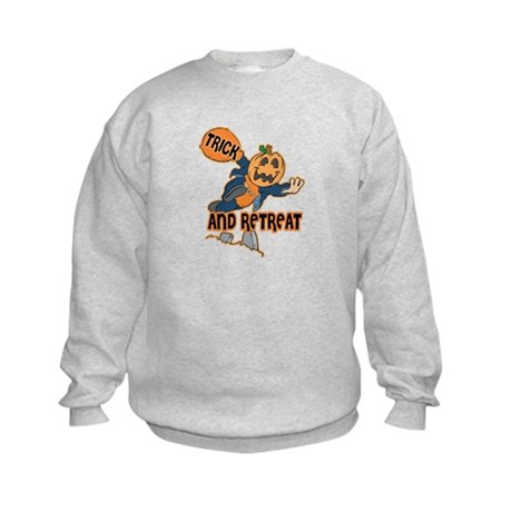 Trick and Retreat Kids Sweatshirt