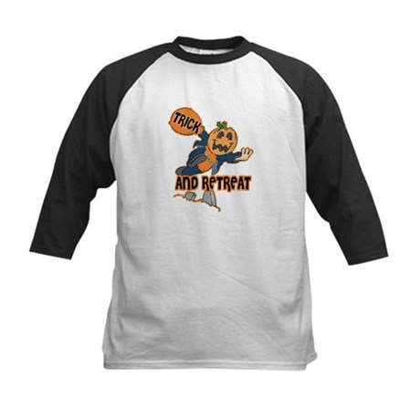 Trick and Retreat Kids Baseball Jersey
