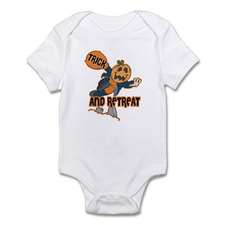 Trick and Retreat Infant Bodysuit