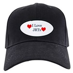 I Love Jack Russell Terriers Black Cap