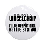 Operational Battle Station Ornament (Round)